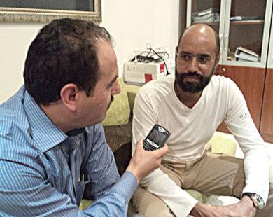 مواجهة إعلامية مع الصحافي رمضان بلعمري