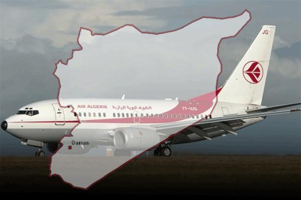 الجزائر تقرّر إستئناف الرّحلات إلى سوريا