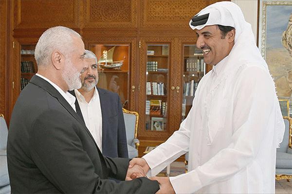 انعكاسات أزمة الخليج على القضية الفلسطينية