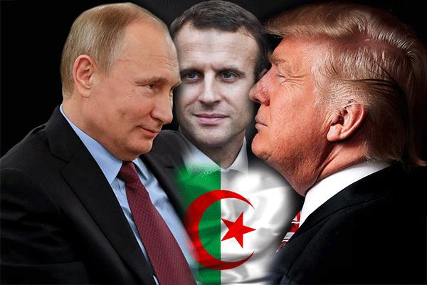 تغييرات أمريكية فرنسية روسية متزامنة في الجزائر!