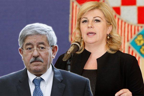 تعلموا من رئيسة كرواتيا يا حكام الجزائر