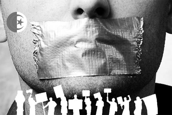 أكذوبة وجود حرية التعبير في الجزائر