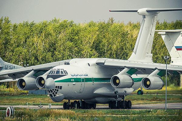 هذه هي طائرة اليوشين الروسية المحطّمة
