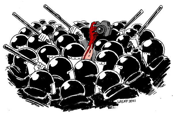 رسالة إلى أشباه الإعلاميين..!