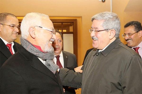 أويحيى يرفض وساطة الغنوشي بين الجزائر والمغرب