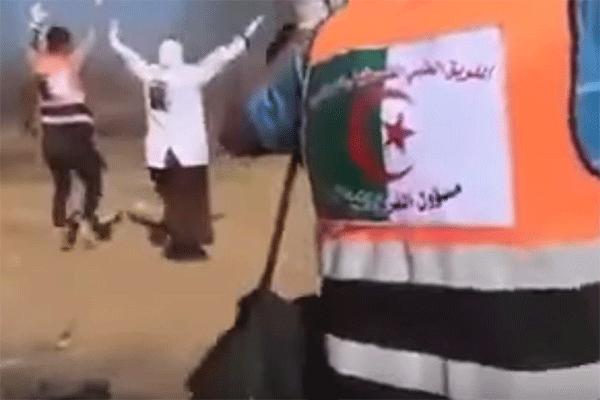 ملحمة جزائرية في غزة