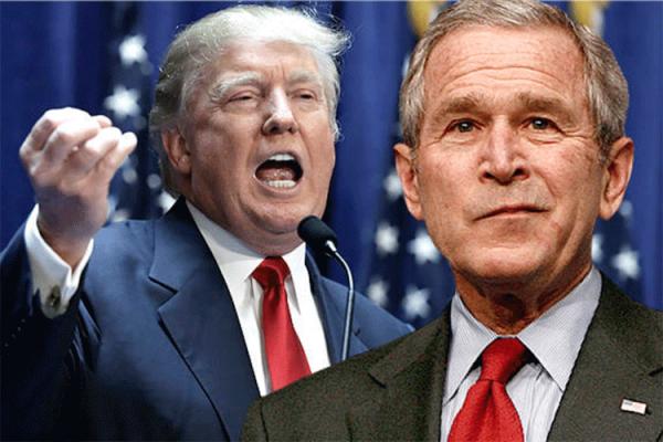 ترامب على خطى جورج بوش الابن السّياسية
