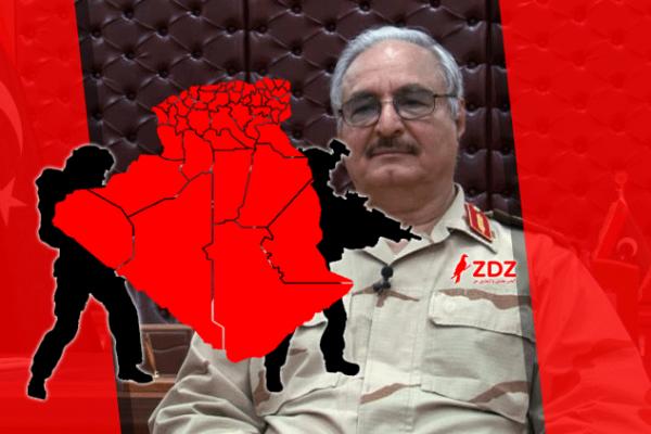 خليفة حفتر يهدد بحرب مع الجزائر.. هزُلت!