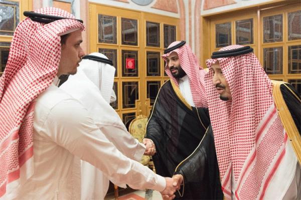 نجل خاشقجي يغادر السعودية بعد لقاء الملك!