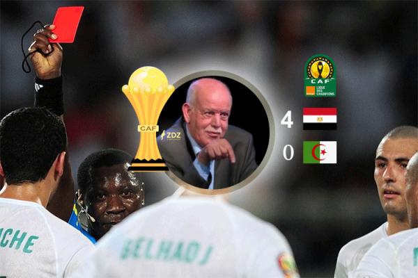 """مصر 4 الجزائر 0.. """"سعدان"""" يفتح الجراح القديمة!"""