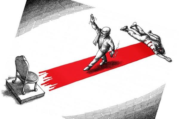 في انفلات الاستبداد على رقاب العباد