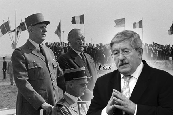 الجنرال شارل ديغول راض عن أويحيى..!