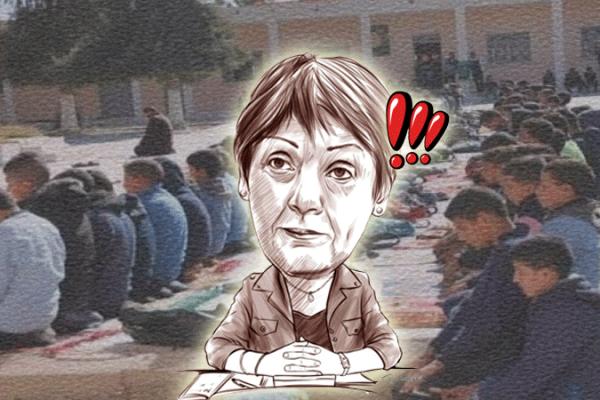 """""""الرب انزار"""" يمنع الصلاة في مدارس بن غبريط..!"""