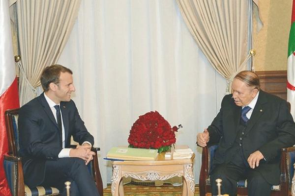 فرنسا الراعي الرسمي للعهدة الخامسة في الجزائر