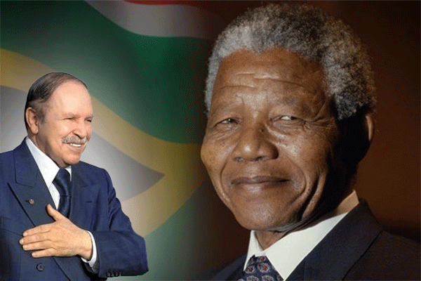 بين مانديلا وبوتفليقة