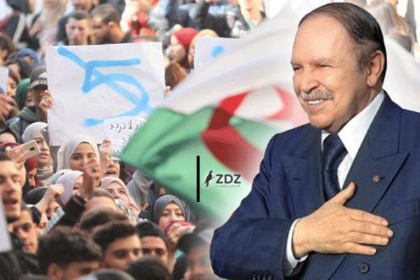 """بوتفليقة للجزائريين: """"أعاهدكم بتغيير النظام""""!"""