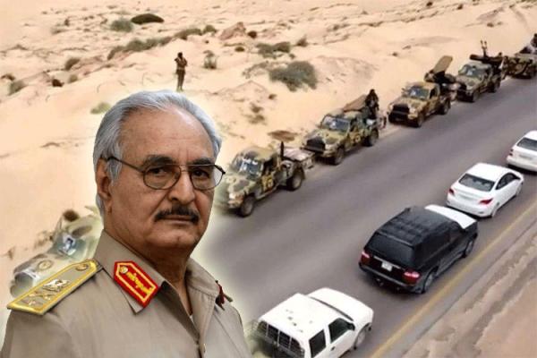 التحركات الحفترية نحو طرابلس وصراعات القوى في ليبيا