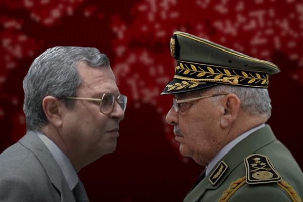 """القايد صالح ومحمد مدين، من سيكسر """"عظم"""" الآخر؟"""