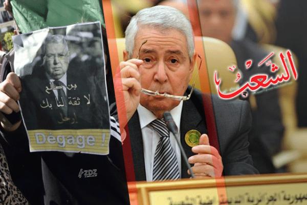 """بن صالح.. من """"جريدة الشعب"""" إلى """"قصر الرئاسة"""""""