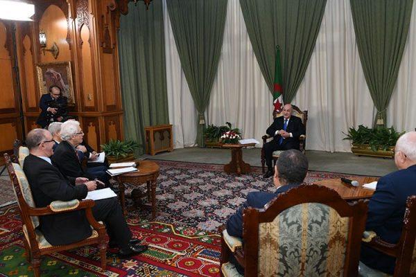 """هذه هي """"الجزائر الجديدة"""" من وجهة نظر الرئيس!"""