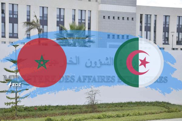 الجزائر تُخاطب المغرب بإطار في وزارة الخارجية!