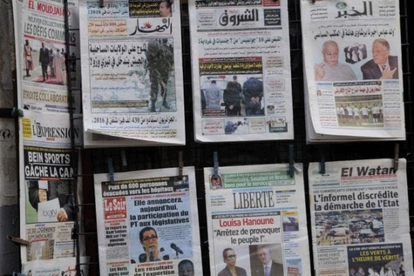 """الصحافة الجزائرية بين الواقع و""""bla bla"""""""