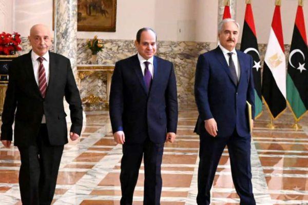 برقية جزائرية للسيسي