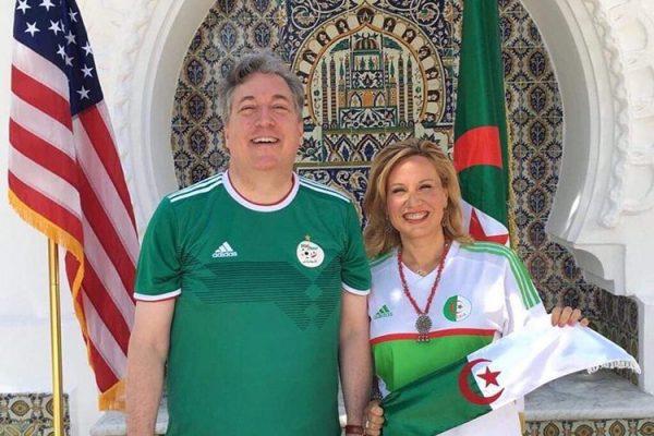 السفير الأمريكي يقيّم مهامه الدبلوماسية بالجزائر