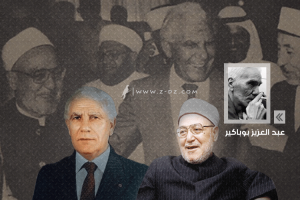 الشيخ الغزالي والمريد الشاذلي