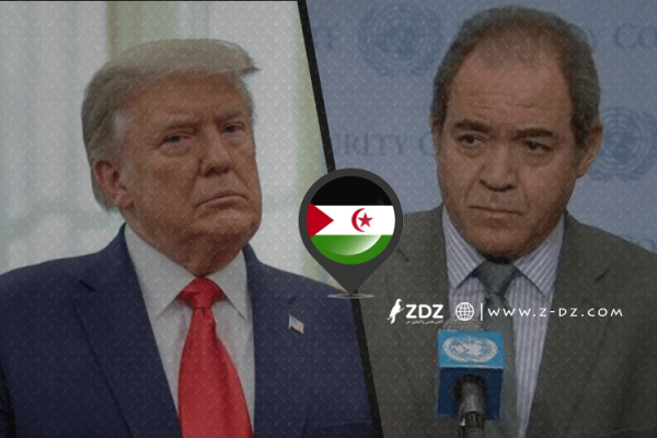 """الصحراء الغربية: أول رد رسمي للجزائر على """"ترامب""""!"""