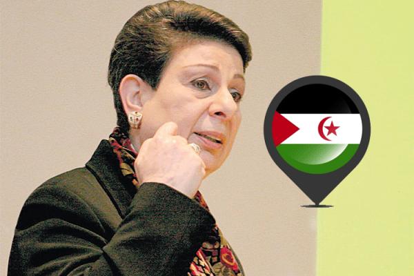 حنان عشراوي: دول العالم لا تعترف بمغربية الصحراء