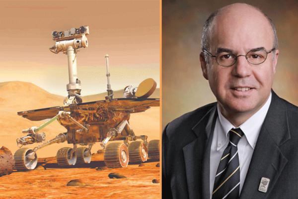 """العالم الجزائري """"مليكشي"""" في سطح كوكب المريخ!"""