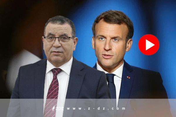 """""""فرنسا عدوتنا الدائمة"""".. ماكرون يرد على جعبوب!؟"""