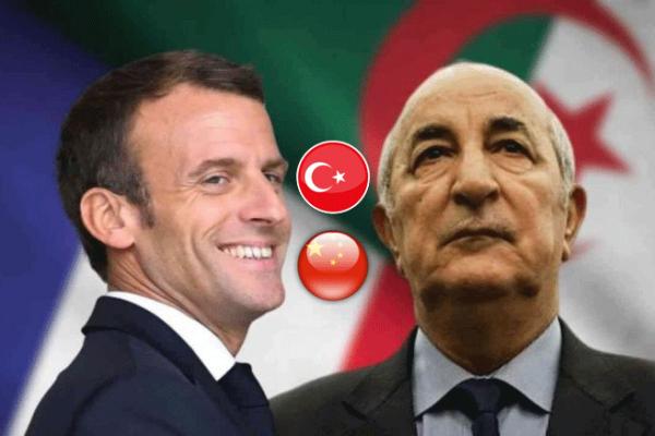 الجزائر.. زحف صيني وتعاظم تركي وتراجع فرنسي؟!