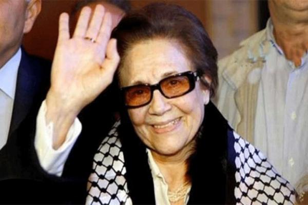 """المجاهدة """"جميلة بوحيرد"""" توجه رسالة للمقاومة الفلسطينية"""