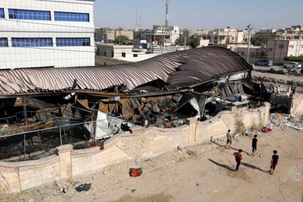 العراق: ارتفاع عدد قتلى حريق مستشفى كورونا (فيديو)