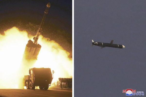كوريا الشمالية تختبر صاروخًا بقدرة نووية