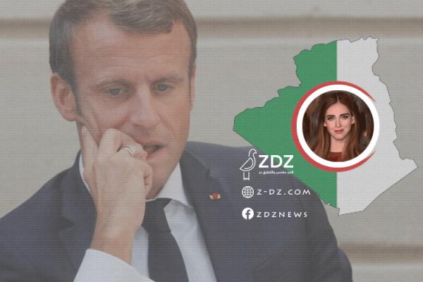 """كاتبة أندلسية تشتم """"ماكرون"""" بسبب الجزائر..!"""
