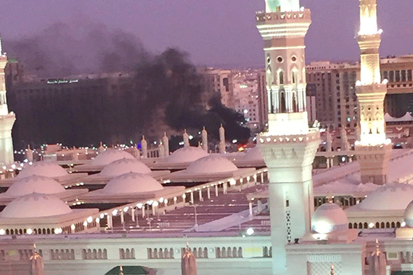 الإرهاب يتجرّأ على الحرم النبوي الشريف